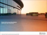 Unternehmenspräsentation - informica real invest AG