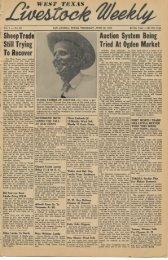 June 23, 1949 - Livestock Weekly!