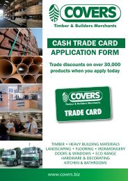 Download application form - Covers