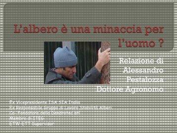 Alessandro Pestalozza, libero professionista, Milano