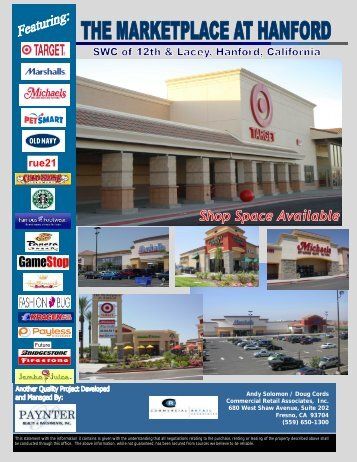 Shop Space Available - Paynter Realty and Investments, Inc.