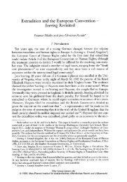 Soering Revisited - Zeitschrift für ausländisches öffentliches Recht ...