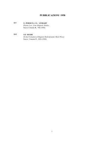 elenco - ENEA - Fusione