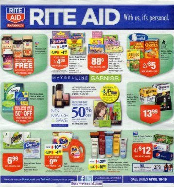 i heart rite aid: 04/10 - 04/16 ad
