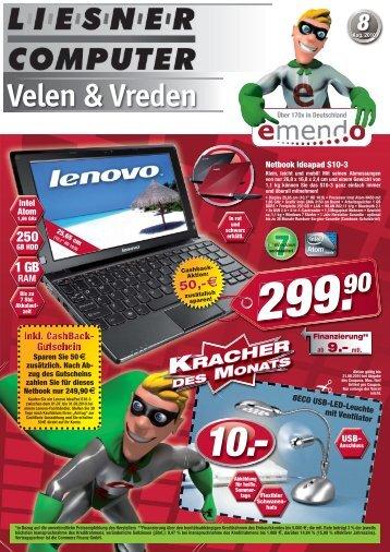 Mo-Fr 10-18 Uhr Sa 10-13 Uhr Tel - Liesner Computer