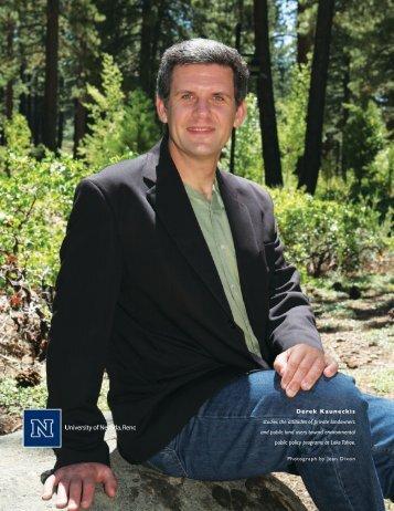 Derek Kauneckis - University of Nevada, Reno