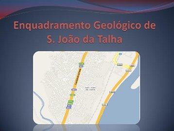 Enquadramento Geológico - Sao Joao da Talha - Webnode
