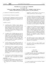RÈGLEMENT (CE) No 1216/2007 DE LA COMMISSION ... - EUR-Lex
