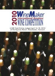 2006 Wine Comp Results I#14C5CE - GENCO