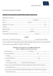 modulistica domanda di iscrizione infermieri stranieri comunitari