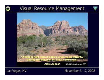 1. Overview of Visual Resource Management