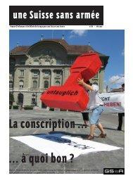 Combien coûte l'armée suisse - Groupe pour une Suisse sans ...