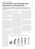 Combien coûte l'armée suisse - Groupe pour une Suisse sans ... - Page 3