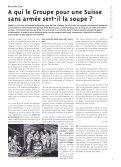 Combien coûte l'armée suisse - Groupe pour une Suisse sans ... - Page 5