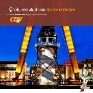 Programmafolder CD&V Genk - Jo Vandeurzen