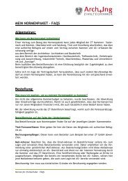 Mein Normenpaket – FAQs - Kammer der Architekten und ...