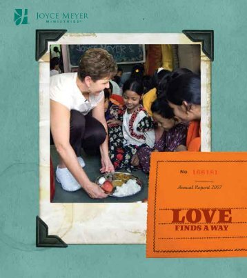 2007 Annual Report - Joyce Meyer Ministries