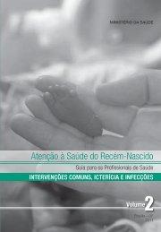 Atenção à Saúde do Recém-Nascido - Rede Brasileira de Bancos ...