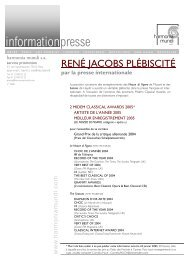 2388 René Jacobs.pub - Harmonia Mundi