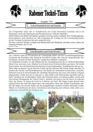 Ausgabe 7/03 - Teckelgruppe Raben