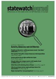 Statewatch Journal