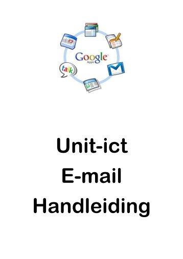 Unit-ict E-mail Handleiding