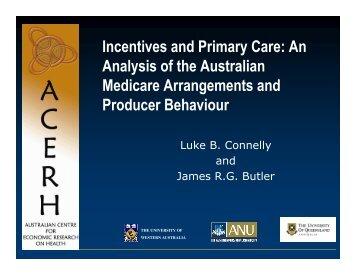 p - Australian Centre for Economic Research on Health (ACERH)