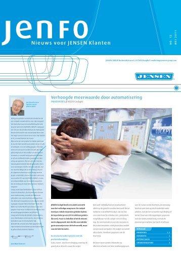Nieuws voor JENSEN klanten - Jensen Group