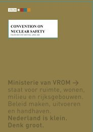 Convention on Nuclear Safety. Fourth review ... - Government.nl