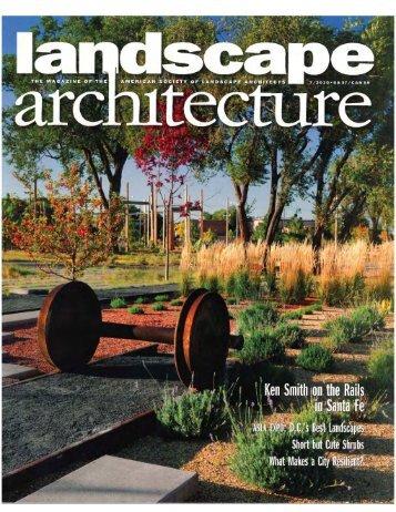 Landscape Architecture - Frederic Schwartz Architects