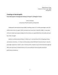 Creating an Aerotropolis