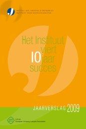 Download jaarverslag 2009 (195 kb) - Ibj.be