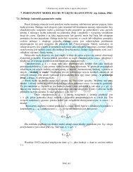 Podstawowy model potoku ruchu w ujęciu klasycznym (wg Ashton ...