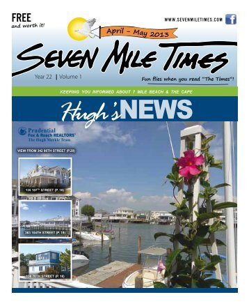 Hugh's News Spring 2013 - Hugh Merkle