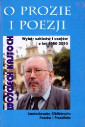 Wojciech Kajtoch: O prozie i poezji (tekst, .pdf, 28,7 MB)