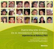 Participación juvenil en el desarrollo territorial: experiencias ... - Desco