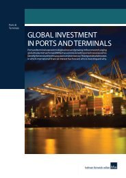 Global investment in ports and terminals - HFW