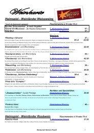 Heimspiel - Weinländer Weissweine Heimspiel - Weinländer ...