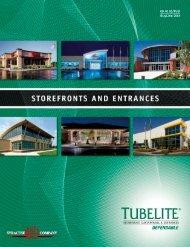 Tubelite Storefronts & Entrances Catalog - syracuse glass company
