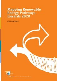 Mapping Renewable Energy Pathways towards 2020 - Eufores