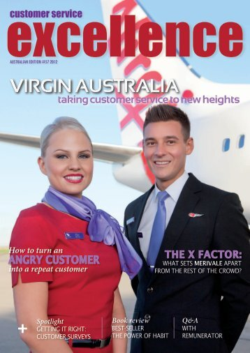 VIRGIN AUSTRALIA - Customer Service Institute of Australia