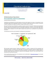 Chemical Industries Newsletter—January 2009 - Chemical Insight ...