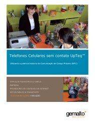 Telefones Celulares sem contato UpTeq™ Brochure - Gemalto