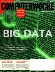 Die Datenflut ist eine Heraus- forderung und Chance zugleich. Viele ...