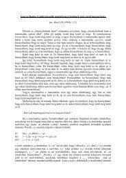 George Boolos: Gödel második nemteljességi tételének igen rövid ...