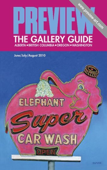 Preview: The Gallery Guide | June–August 2010