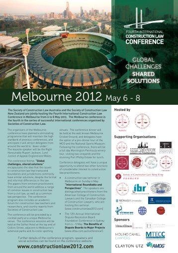 Melbourne 2012 May 6 - 8 - Minter Ellison