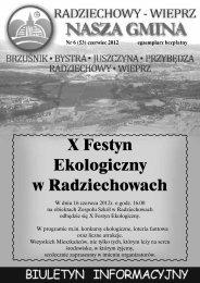 X Festyn Ekologiczny w Radziechowach