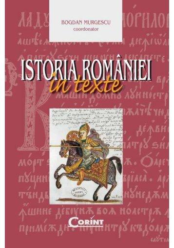 Istoria României în texte - cIMeC