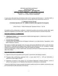 servizio sanitario nazionale regione marche azienda ... - Co.ES Italia
